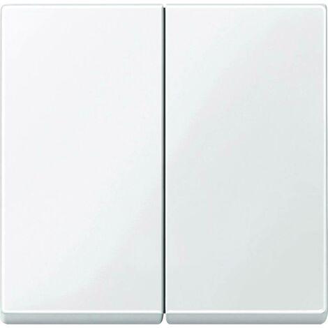 Merten Abdeckung Serienschalter System M Polarweiß glänzend 432519 Y192421
