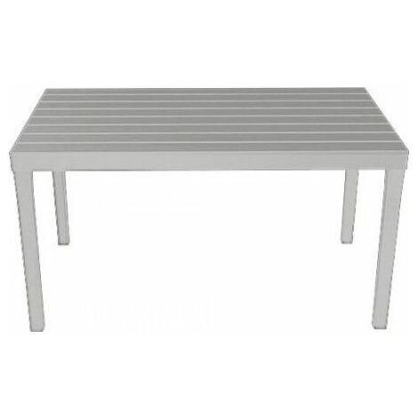 Mesa 138x78 cm sumatra blanca
