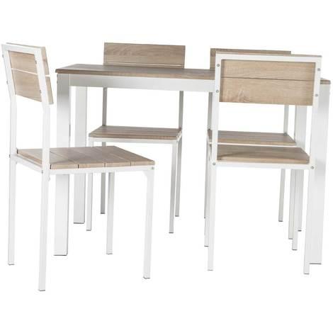 Mesa + 4 sillas Xobe
