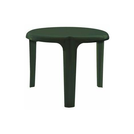 Mesa auxiliar redonda de diámetro 50 cm y 39 cm. Alt.