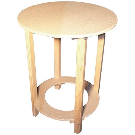 Mesa camilla con estructura para brasero