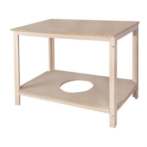 Mesa camilla rectangular haya