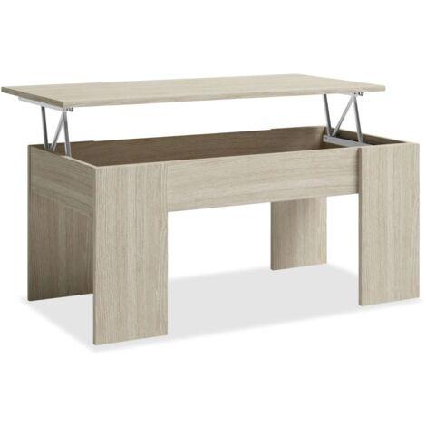 Mesa centro elevable dos colores a elegir 45 cm(alto)100 cm(ancho)50 cm(largo)