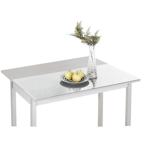 Mesa Cocina ala extensible frontal modelo ADD Blanca 90x50