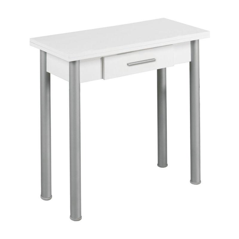 Mesa cocina extensible con cajón Caye2