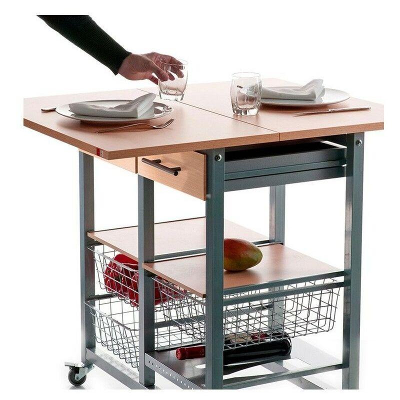 DON HIERRO, Mesa cocina plegable verdulero MILENIUM,. Diseño y fabricación española.