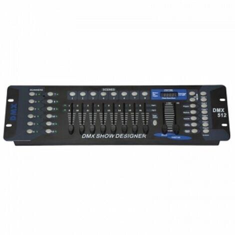 Mesa Controladora de luces DMX 512 192 canales programable para iluminacion y DJ