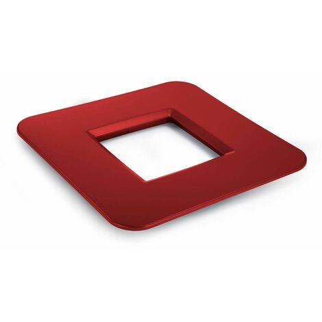 Mesa cuadrada roja Mediterraneo - 50151011542044