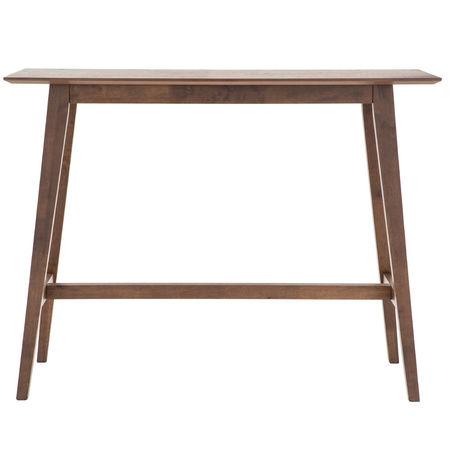Mesa de bar moderna madera nogal RUSSELL