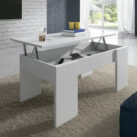 Mesa de centro elevable Elise cambria su combinación de funcionalidad y diseño ideal para su hogar