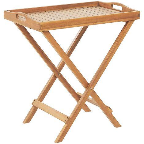 Mesa de centro madera clara JAVA