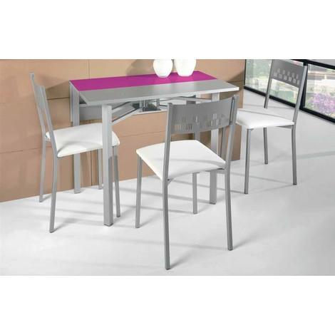Mesa de cocina extensible modelo Ciruela