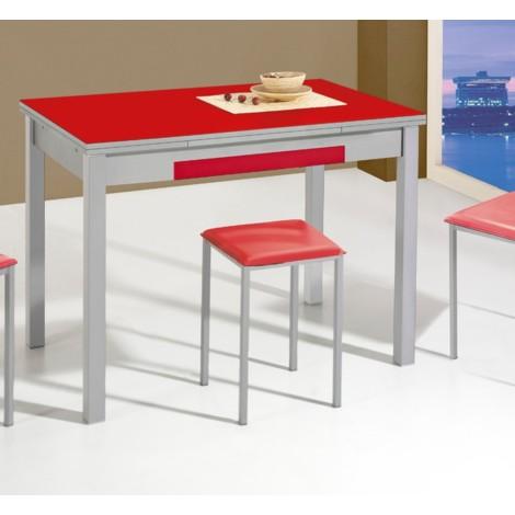 Mesa de cocina extensible modelo Melocotón
