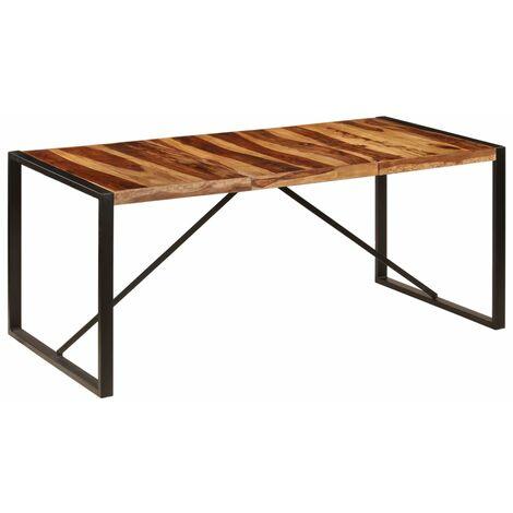 Mesa de comedor 180x90x75 cm madera maciza de sheesham