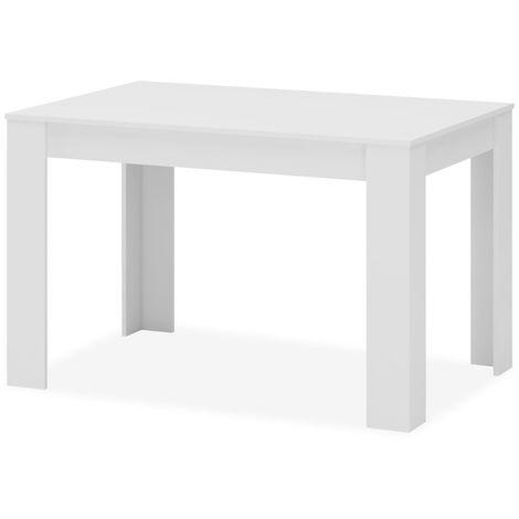 Mesa de comedor Extensible en color blanco diamante ref-65
