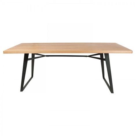 Mesa de comedor Janu de madera de fresno