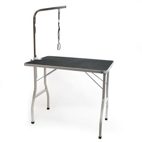 Mesa de corte Mesa de tijera Mesa de peluquería Mesa para el cuidado de animales