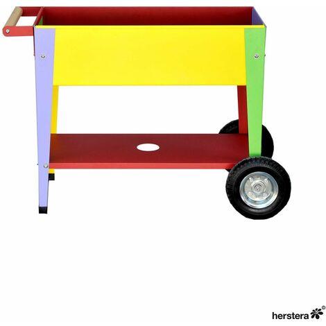 Mesa de cultivo para niños con ruedas 75x35x65cm
