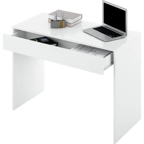 Mesa de despacho con 1 cajon Turin-M dos colores a elegir 75 cm(alto)100 cm(ancho)50 cm(fondo)
