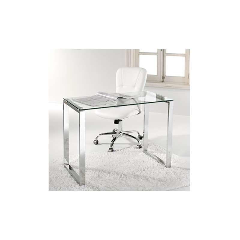 Wellindal mesa de estudio o despacho modelo benetto 100 patas blanco