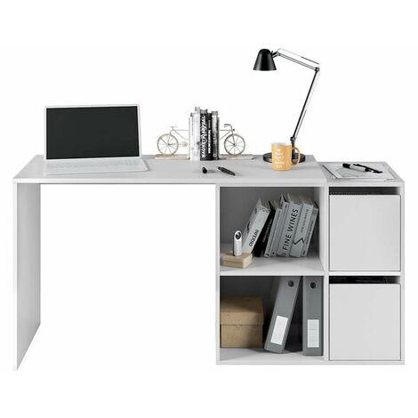 Mesa de escritorio multiposición Adapta - Blanco Artik