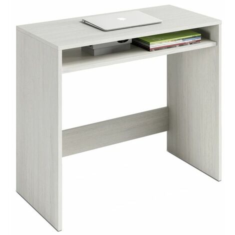 Mesa de escritorio Oak - Blanco Alpes