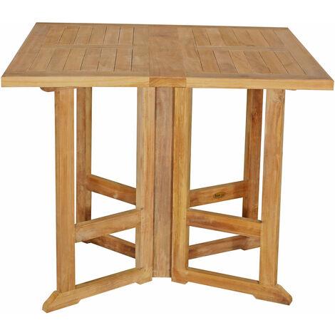 Mesa de jardín de madera de teca PIAVA 2 personas