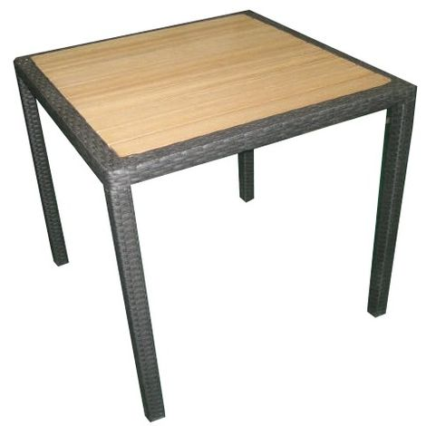 Mesa de jardín Orleans 80x80 cm | Rattan