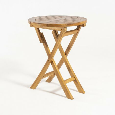 Mesa de jardín teca plegable