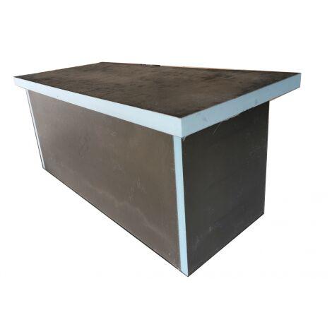 Mesa de masaje exfoliante lista para MMR en XPS para montar 210 x 90 cm para baño de vapor