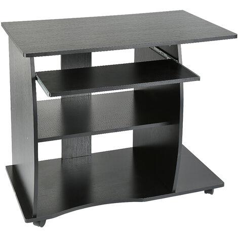mesa de oficina,Mesa de oficina para escritorio de computadora,(negro)90 x 50 x 75 cm