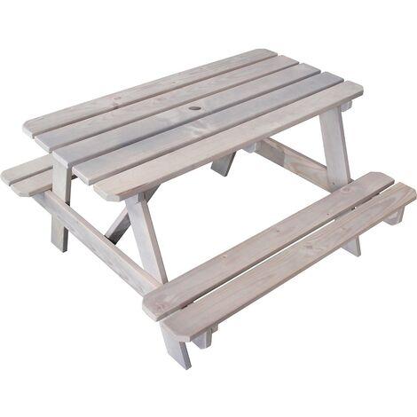 "main image of ""Mesa de picnic de madera para niños - Picnic"""