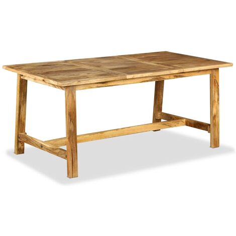 Mesa de salón comedor de madera maciza de mango 180 cm