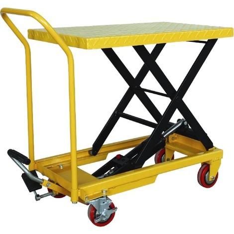 Mesa de Tijera Hidraulica 150kgs