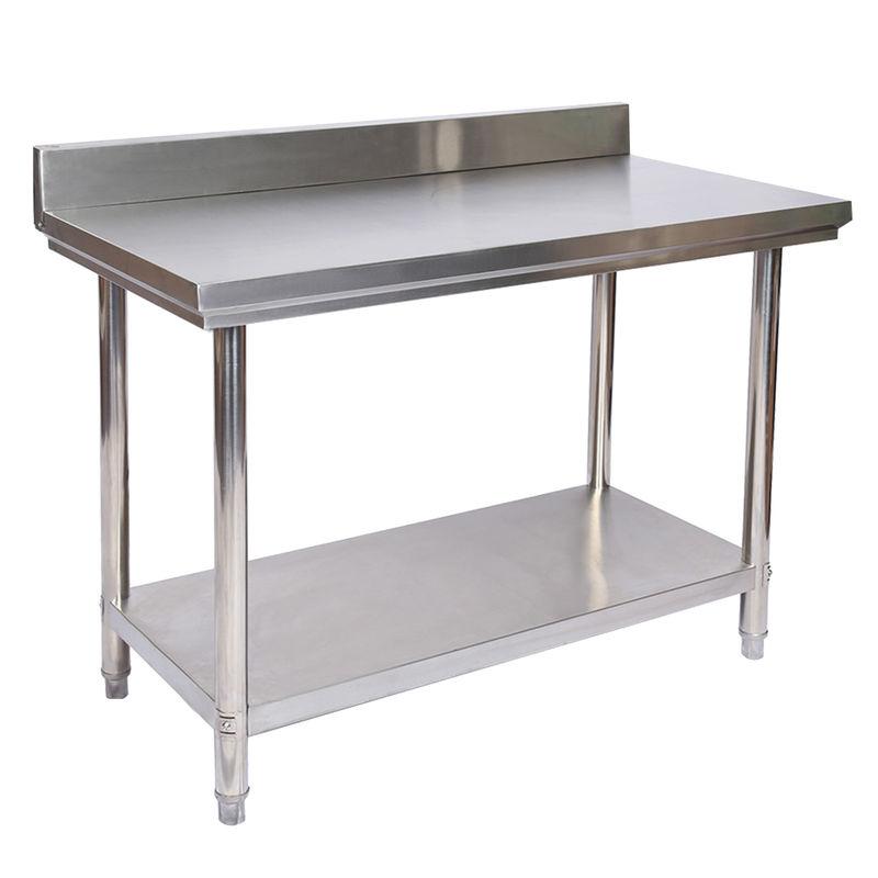 Mesa de trabajo Acero Inox Alzatina superficie reforzada ajustable ...