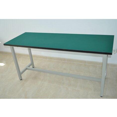 """main image of """"Mesa de trabajo con recubrimiento antiestatico 160cmx80cm y 75cm altura"""""""