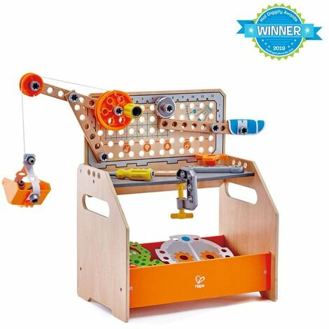 Mesa de trabajo inventos discovery Hape