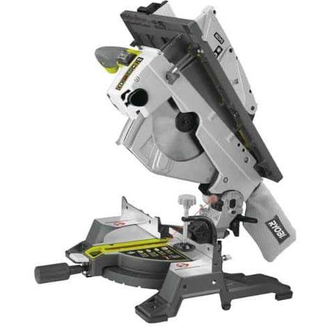 Mesa eléctrica y tronzadora RYOBI 1800W 254mm RTMS1800-G