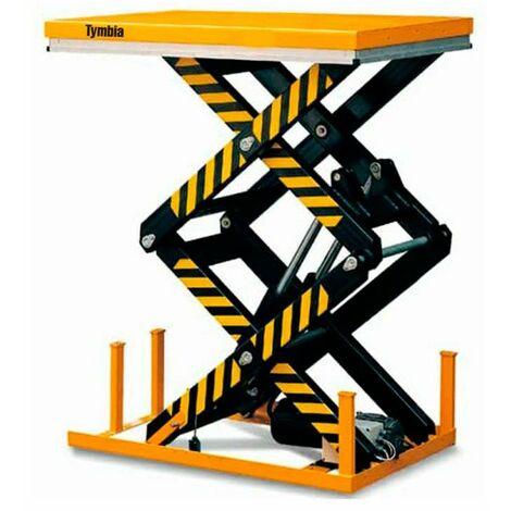 Mesa Elevadora Eléctrica 1000kg a 1780mm de 1300x820mm (doble tijera)