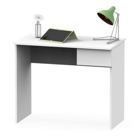 Mesa escritorio Turin con un cajon dos colores a elegir 75 cm(alto)90 cm(ancho)50 cm(fondo)