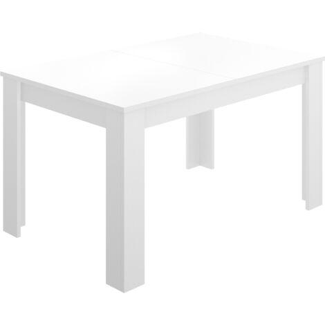 Mesa extensible Dine Blanco brillo