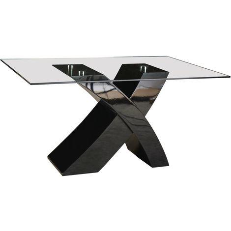Mesa Mona - 150 x 90 x 74 cm - Negro