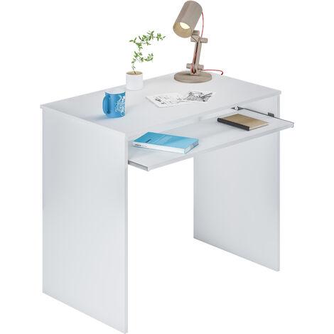Mesa ordenador -Infantil- Blanco Artik 79x90x54 cm