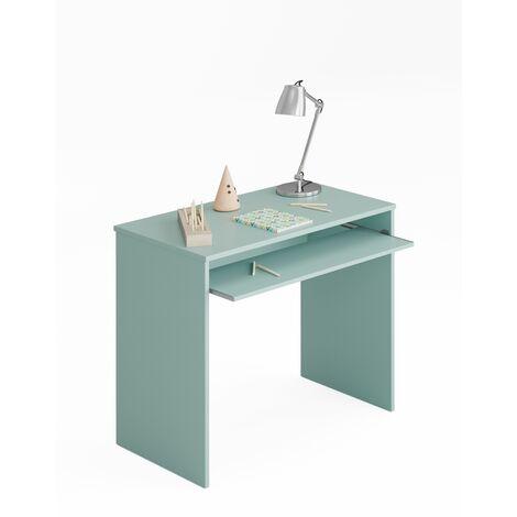 Mesa ordenador -Infantil- Verde 79x90x54 cm
