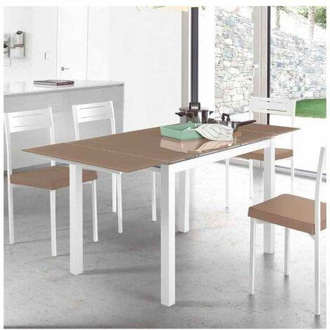 Mesa para cocina extensible dos colores a elegir 76.5 cm(alto) 110/170 cm(ancho)70 cm(fondo).