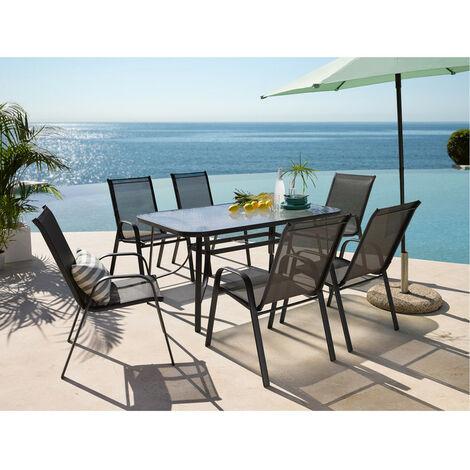 """main image of """"Mesa para exterior con 6 sillas cdt-036+6, la mejor manera de disfrutar de tu jardín esta primavera/verano"""""""
