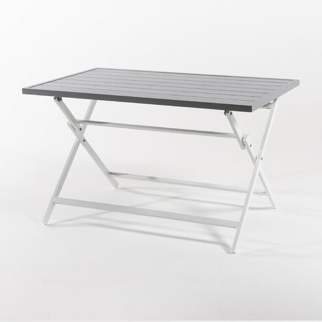Mesa para exterior plegable rectangular |