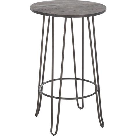 Mesa taburete redonda para terraza