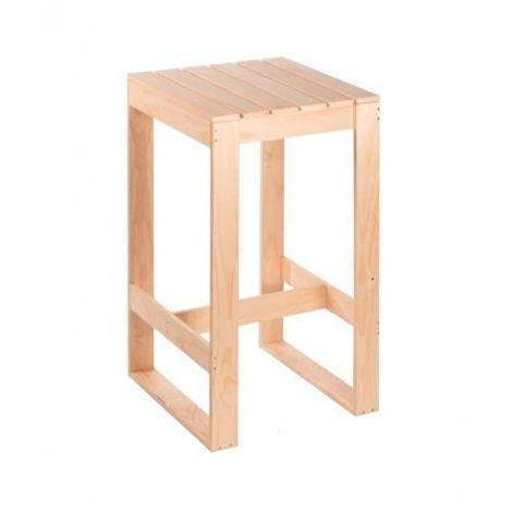 Mesa tipo barras alta para bares y cocinas para silla alta o taburetes mho2016003-DESKandSIT-57X57CM H105 57X57CM H105 Marrón