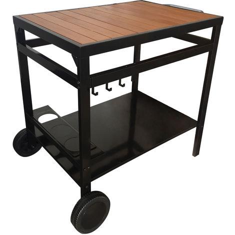 Mesas auxiliares y carritos de jardín